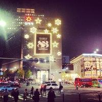 Photo taken at SHINSEGAE Department Store by Douglas H. on 11/4/2013