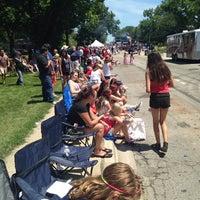 Photo taken at Deerfield Village by Jill J. on 7/4/2014