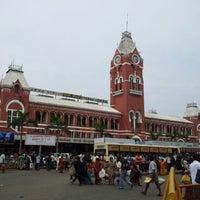 Photo taken at Chennai Central Sub Urban Station by Ramesh N. on 9/27/2012