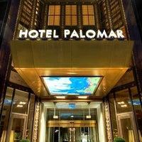 Photo taken at Kimpton Hotel Palomar Philadelphia by Cynthia S. on 3/30/2013