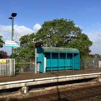 Photo taken at Waun-Gron Park Railway Station (WNG) by James F. on 5/7/2014