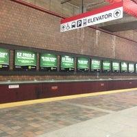 Photo taken at MBTA Alewife Station by Daniel B. on 1/26/2013