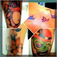 Photo taken at Afterdark Tattoos by Eva M. on 5/19/2013