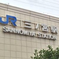 Photo taken at JR Sannomiya Station by 龍 on 7/15/2013