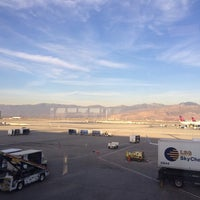 Photo taken at Concourse D by Mark T. on 11/18/2014