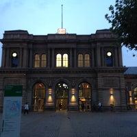 Photo taken at Mainz Hauptbahnhof by Harald H. on 7/22/2014