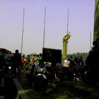 Photo taken at Lapangan Tegalega by Agus S. on 9/8/2013