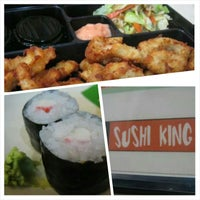 Photo taken at Sushi King by Enzo P. on 9/23/2014