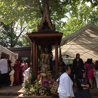 Photo taken at Wat Santiwongsaram by Auichan W. on 5/19/2013