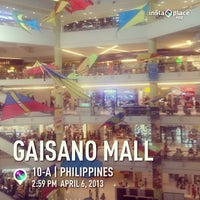 Photo taken at Gaisano Mall of Davao by Joseph S. on 4/6/2013