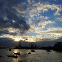 Photo taken at West Coast Beach by Kecik T. on 2/12/2013