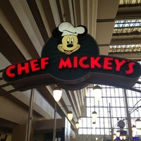 Photo taken at Chef Mickey's by Jennifer S. on 1/13/2013