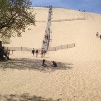 Photo taken at Dune du Pyla by omenanto on 4/17/2013