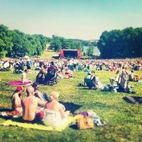 Photo taken at Hagaparken by Owen M. on 6/6/2013
