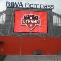 Photo taken at BBVA Compass Stadium by kimstoilis on 10/14/2012