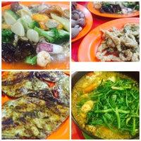 Photo taken at Santiga Seafood (Abeng) by Chelsea M. on 3/19/2016