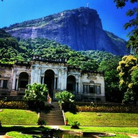 Photo taken at Parque Lage by Elisa S. on 2/12/2013