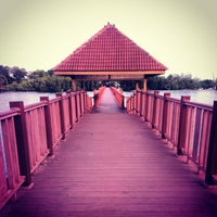 Photo taken at Jeti, Pantai Cahaya Negeri by marcus f. on 9/29/2012
