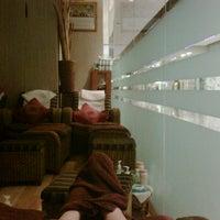 Photo taken at Kannikar Beauty Massage | Central World by woow C. on 2/10/2012