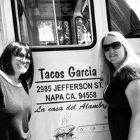 Photo taken at Tacos Garcia by Mira on 4/20/2013