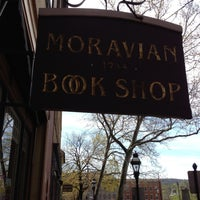 Photo taken at Moravian Book Shop by Mike B. on 4/21/2013