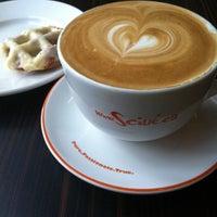 Photo taken at Sciué Italian Bakery Caffé by Irina G. on 9/21/2013