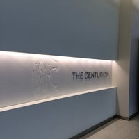 Photo taken at The Centurion Lounge by American Express by Bernard G. on 1/10/2014
