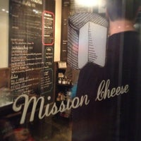 Photo taken at Mission Cheese by Cari W. on 9/20/2012