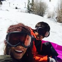 Photo taken at Tahoe Donner Ski Resort by Abby B. on 4/3/2016