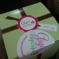 Photo taken at Gigi's Cupcakes by Snapchat:@msonone on 9/29/2012