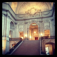 Photo taken at San Francisco City Hall by Aaron K. on 1/23/2013