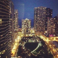 Photo taken at Fairmont Chicago by Dawn D. on 10/24/2012