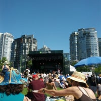 Photo taken at Vancouver International Jazz Festival by Jaslin on 6/30/2013