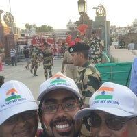 Photo taken at Wagah Border - India Pakistan Border by Aditya N. on 7/7/2016