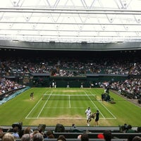 Photo taken at Centre Court by Gloverboy on 7/3/2012