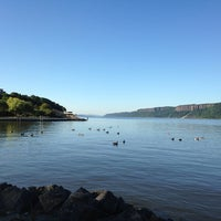 Photo taken at Dobbs Ferry Waterfront Park by Orest K. on 9/28/2014