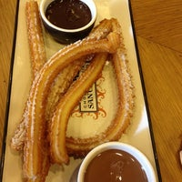 Photo taken at Chocolateria San Churro by Gurprriet / JoyandLife S. on 3/30/2013