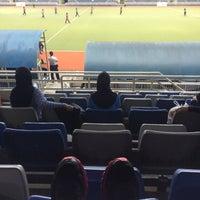 Photo taken at Stadium Hoki Nasional by Iekalatip on 6/2/2016