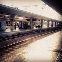 Photo taken at Padova railway station (QPA) by Martino M. on 7/19/2013