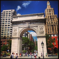 Photo taken at Washington Square Park by Brian K. on 6/12/2013