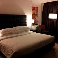 Photo taken at Sheraton Porto Hotel & Spa by António Manuel T. on 4/19/2013