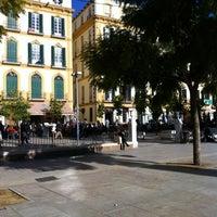 Photo taken at Plaza de la Merced by Jonas N. on 12/30/2012
