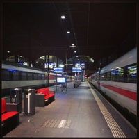 Photo taken at Basel SBB Railway Station by Thomas P. on 7/5/2013