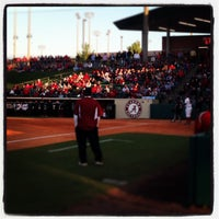 Photo taken at Rhoads Stadium by Vasha H. on 4/19/2013