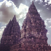 Photo taken at Candi Prambanan (Prambanan Temple) by iSrar B. on 11/1/2013