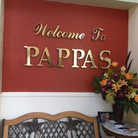 Photo taken at Pappas Restaurant by Sabina M. on 9/28/2012