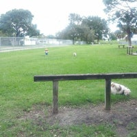 Photo taken at West Dog Park by Eric H. on 9/22/2012