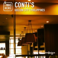Photo taken at Conti's Bakeshop & Restaurant by Kate H. on 3/10/2013