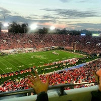 Photo taken at Rose Bowl Stadium by Noreen G. on 1/2/2013