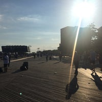 Photo taken at Brighton Beach by michael l. on 6/18/2016